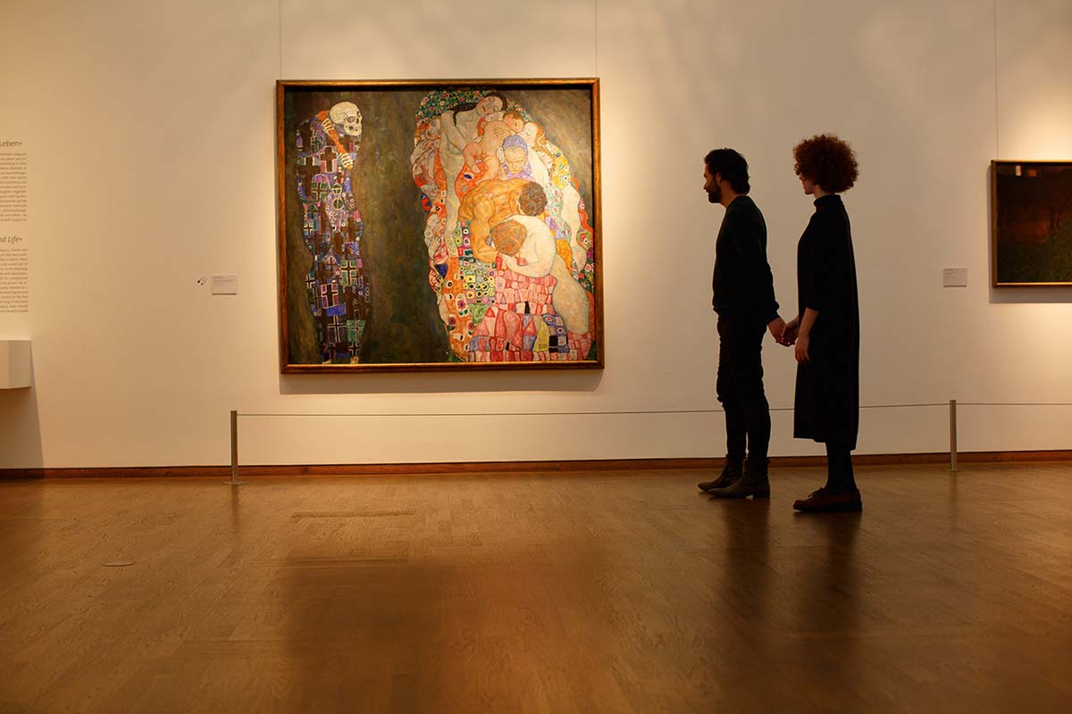 Klimt's collection at the Leopold Museum