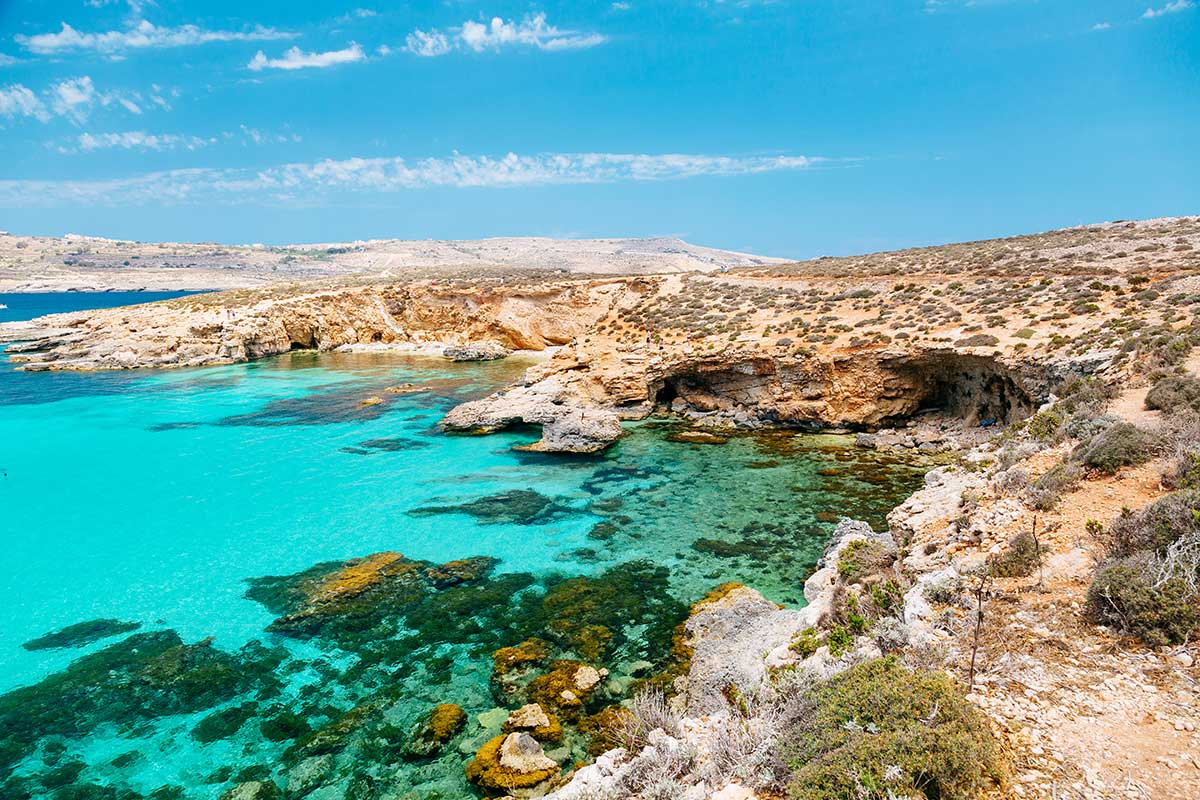 The Blue Lagoon by Comino