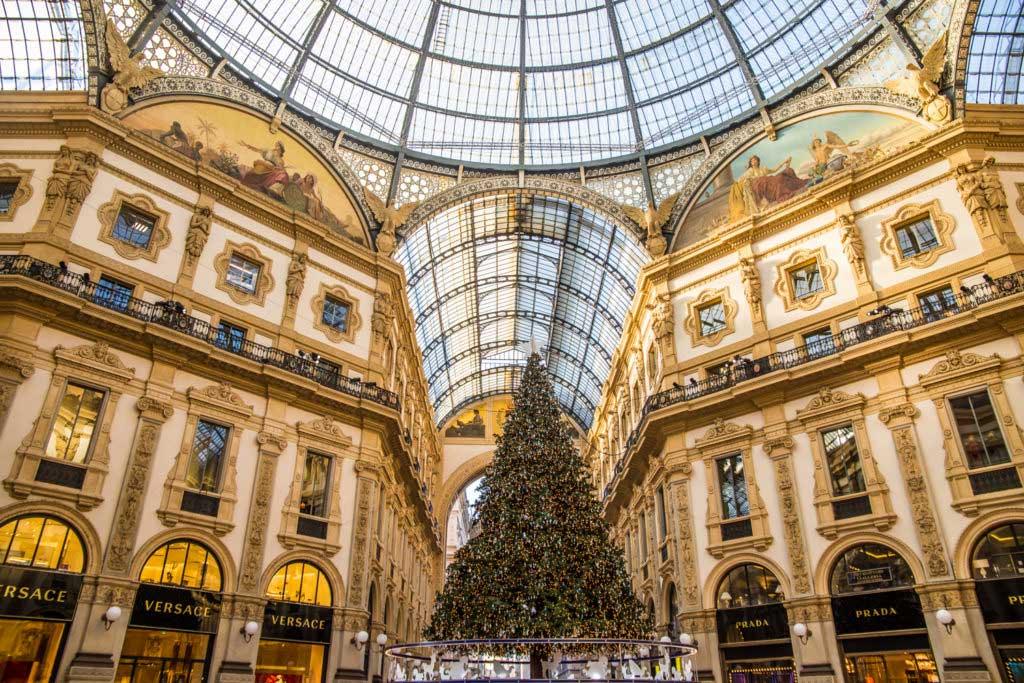 Galeria Vittorio Emanuele II in Milan