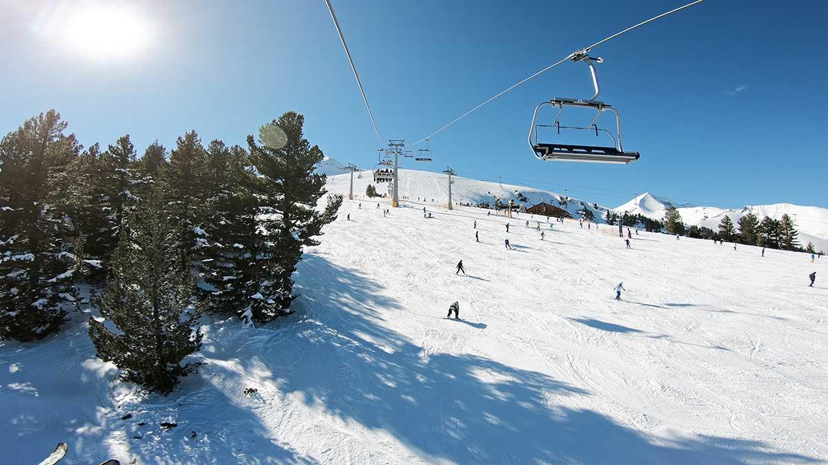 Bansko ski station