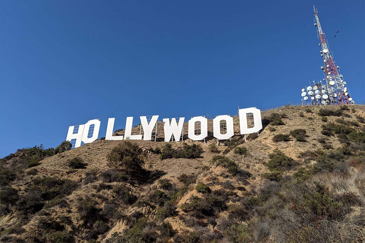 The Hollywood sign ©Marta Misiewicz