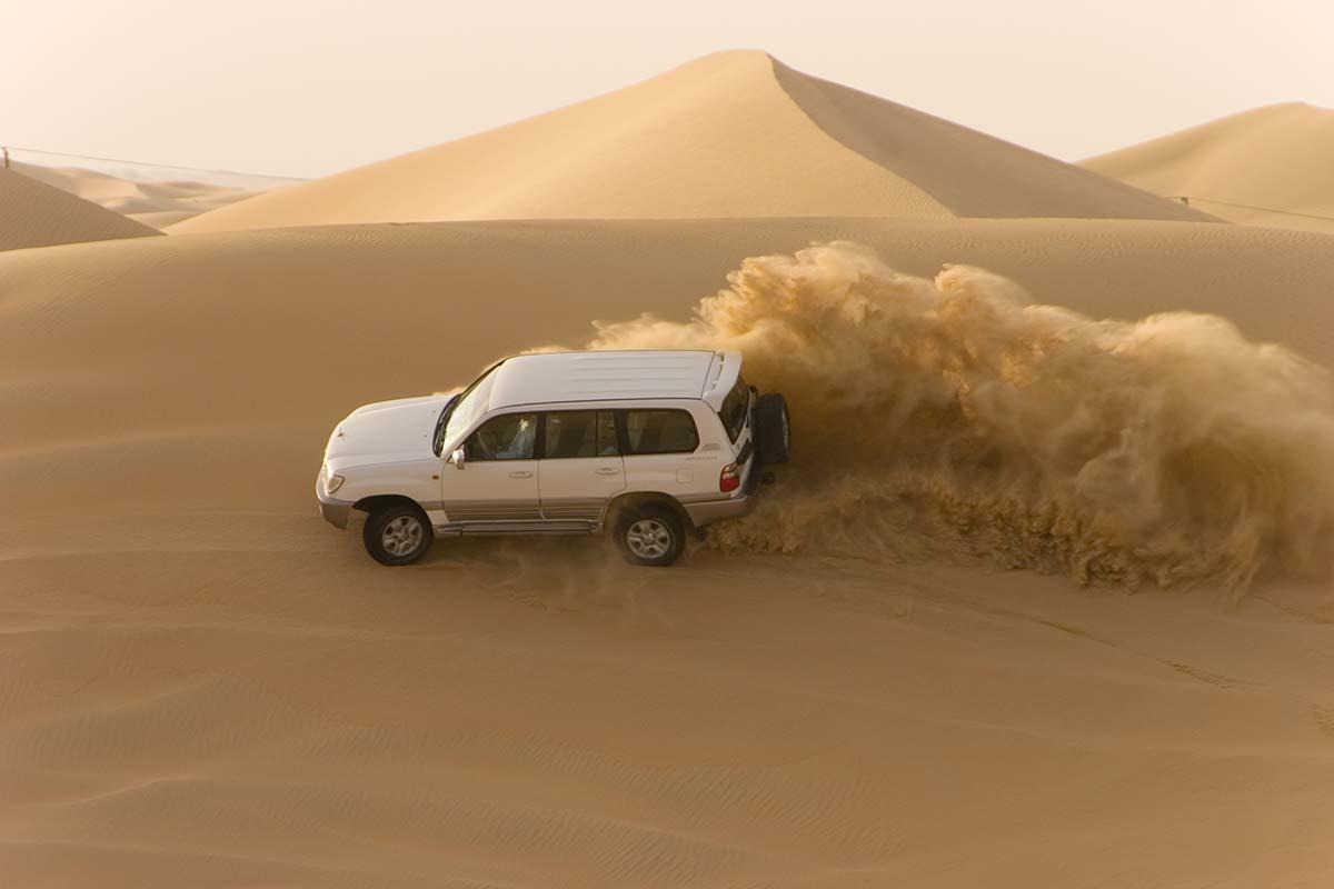 In the desert ©iStock