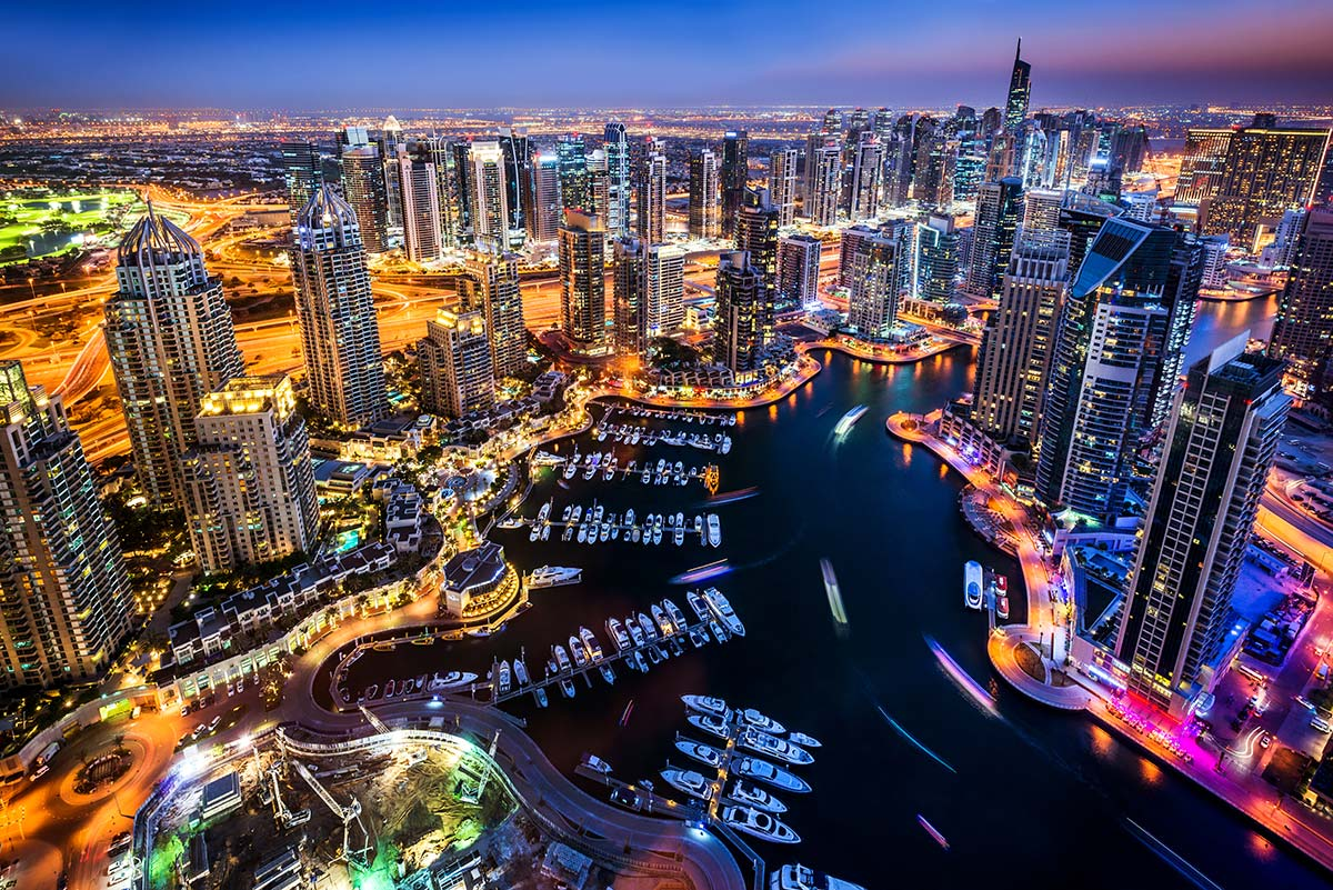 Dubai Marina ©iStock