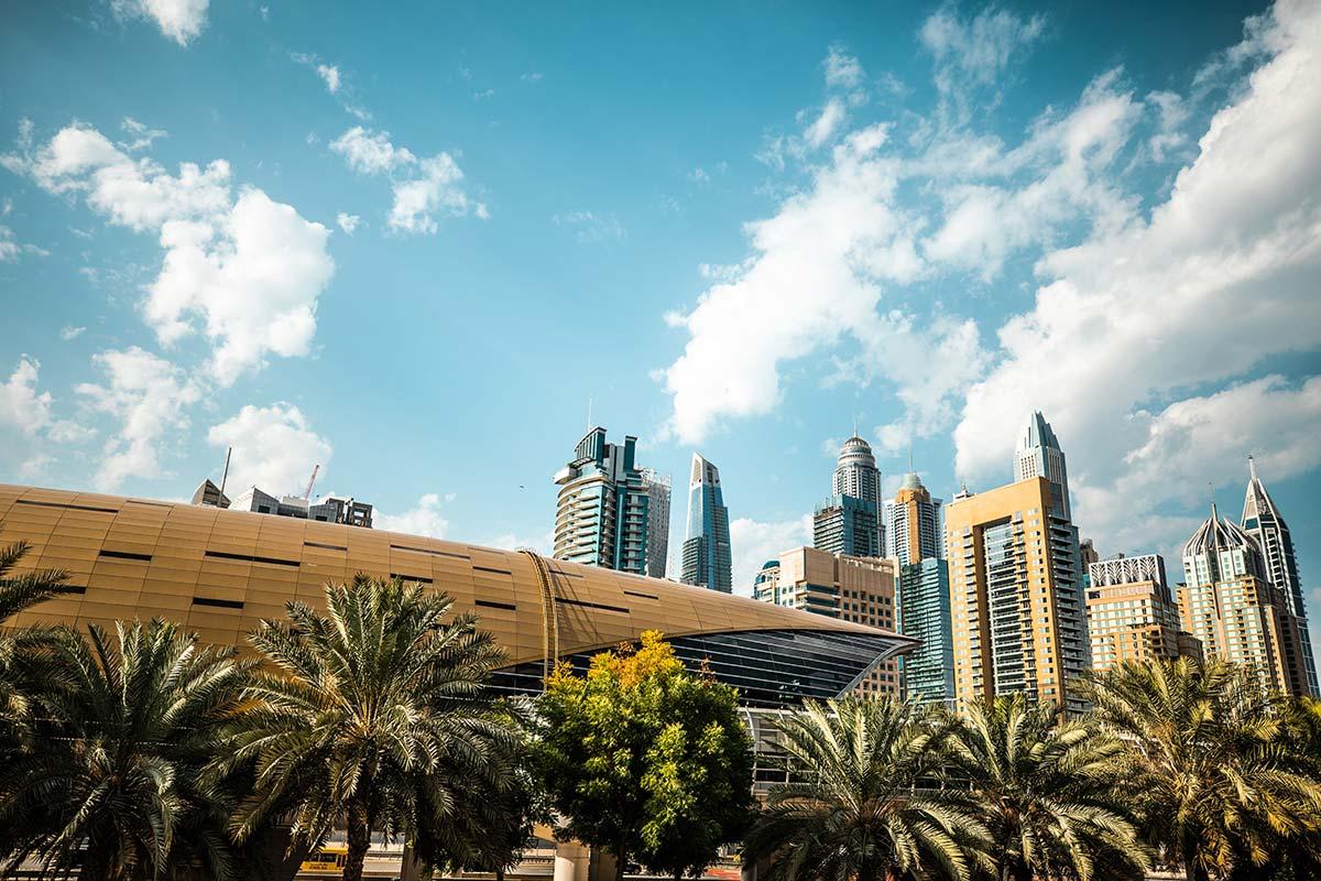 Modern buildings in Dubai ©iStock