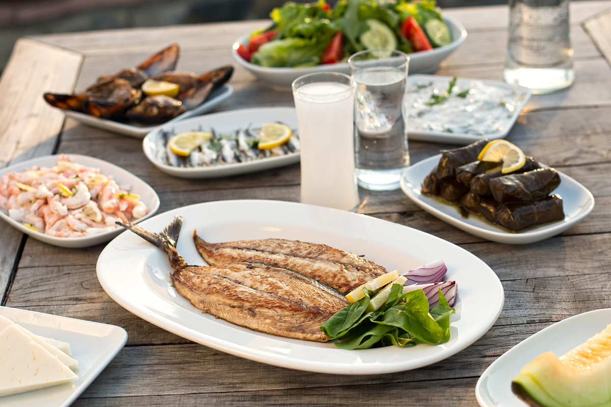Greek dishes ©iStock