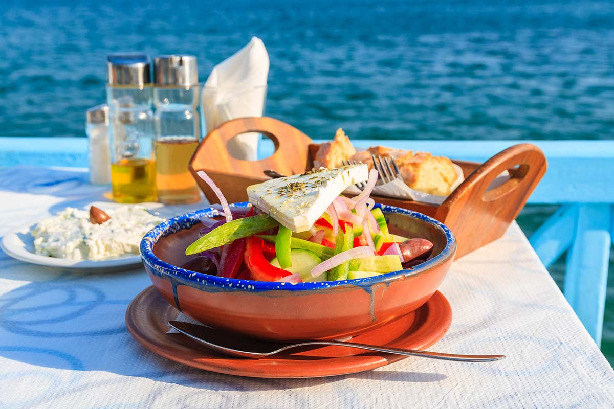 Greek salad ©iStock